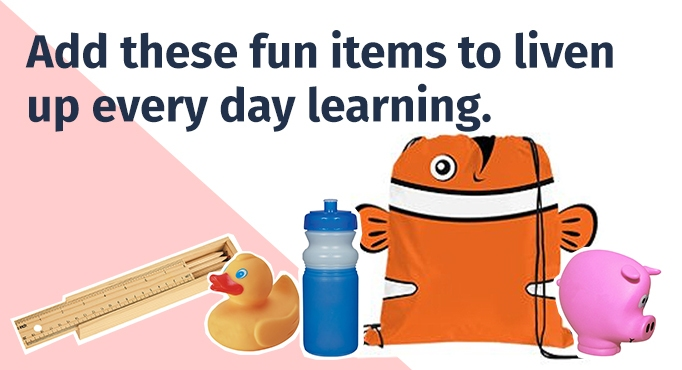 Add these fun items to liven up every day learning.