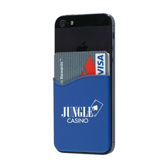 Customized Silicone Phone Wallet