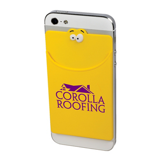 Customized Goofy® Silicone Mobile Device Pocket
