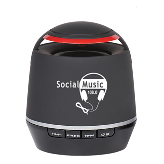 Customized Soft Touch Bluetooth Speaker
