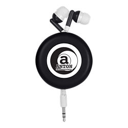 Customized Retro Retractable Ear Buds
