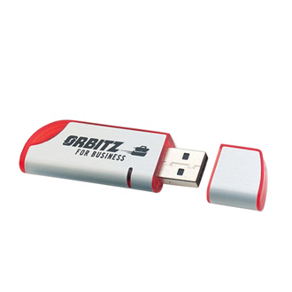 Customized Jazzy Flash Drive - 2GB