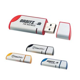 Customized Jazzy Flash Drive - 4GB