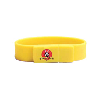 Customized Flash Drive Wristband - 4GB