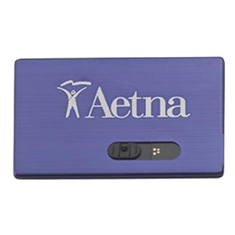 Customized Slide Card Micro USB Drive - 4GB