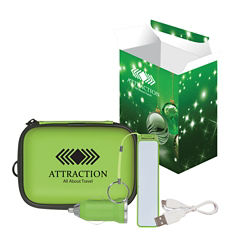 Customized Deluxe Travel Kit with Custom Box