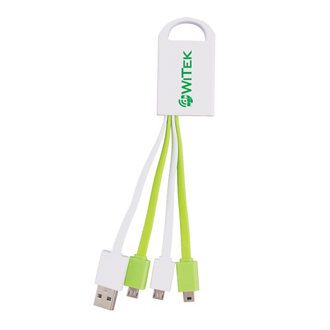 Customized 3-in-1 Charging Buddy - Mini/Micro USB Connectors