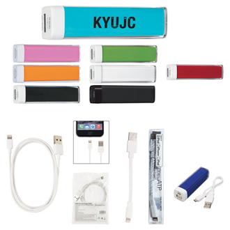 Customized UL Listed Charge-It-Up Power Bank