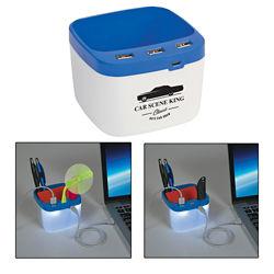 Customized USB Desk Caddy