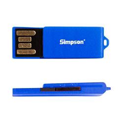 Customized Mini Clip USB Drive -16GB