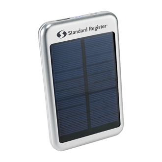 Customized Bask Solar 4,000 mAh Power Bank