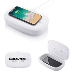 Customized UV Phone Sanitizer & Wireless Charger