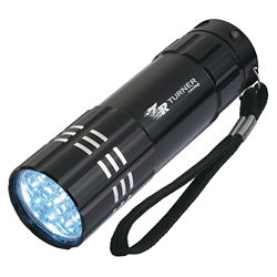 Customized Aluminum LED Flashlight with Strap