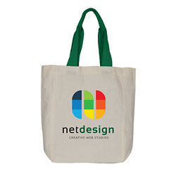 Customized Full Colour Inkjet Colour Me Cotton Tote Bag