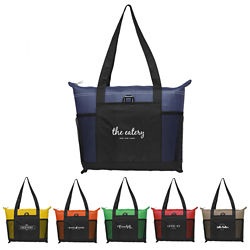 Customized Multi-Pocket Mesh Orion Tote Bag