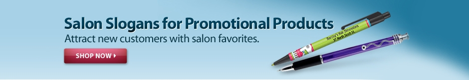 Beauty Salon Slogans and Promotional Products - National Pen