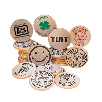 Customized Wooden Nickels