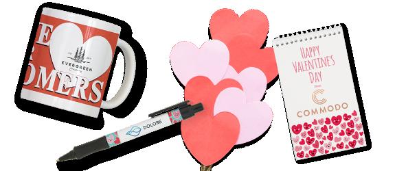 Custom Valentine's Day Promo Items