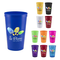 Customized 22 oz Pitcher Stadium Cup - Full Colour Inkjet