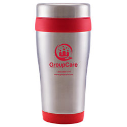 Customized Grande Stainless Steel Travel Tumbler - 16 oz