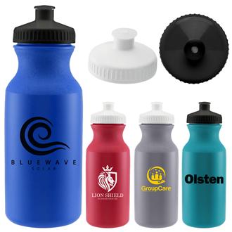 Customized 20 oz Speedy Colored Bike Bottle
