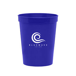 Customized 16 oz Ava Plastic Stadium Cup