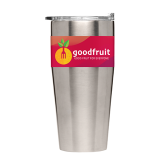 Customized Britebrand™ 16 oz. Ree Stainless Steel Tumbler with Lid