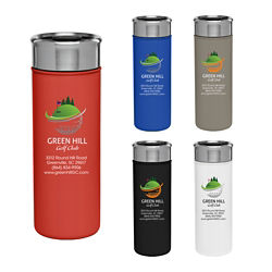 Customized Full Colour Inkjet 18 oz. Double-Wall Stainless Steel Liza Tumbler