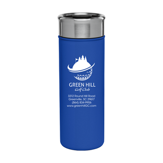 Customized 18 oz. Double-Wall Stainless Steel Liza Tumbler