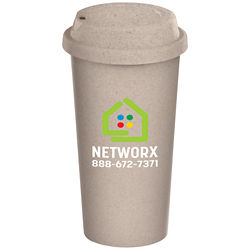 Customized Britebrand™ 16 oz. Eco-Friendly Reusable Coffee Cup