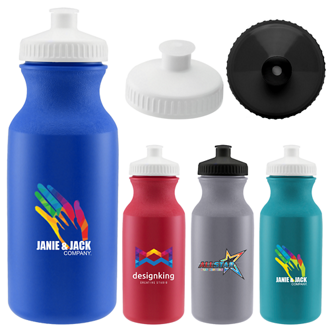 Customized Full Color Inkjet 20 oz. Speedy Bike Bottle