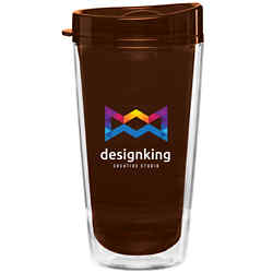 Customized 16 oz Verano Colored Tumbler - Full Color Inkjet