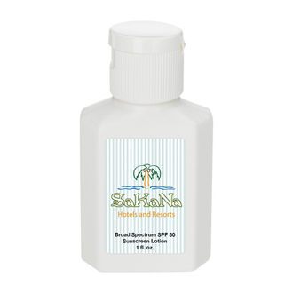 Customized 1 oz SPF 30 Sunscreen