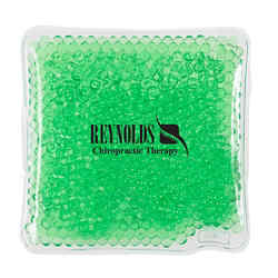 Customized Square Gel Beads Hot/Cold Pack
