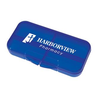 Customized Rectangular Shape Pill Holder