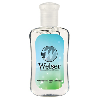 Customized Hand Sanitizer Fashion Bottle - 3 oz