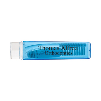 Customized Travel Toothbrush & Toothpaste-Full Color