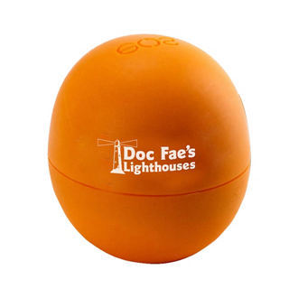 Customized Smooth Sphere Lip Balm - Medicated Tangerine