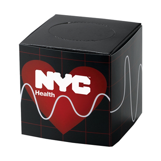 Customized Mini Cube Tissue Box