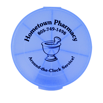 Customized Med-Week Seven-Compartment Pill Box