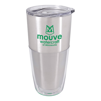 Customized Split Colour Acrylic Tumbler - 20 oz