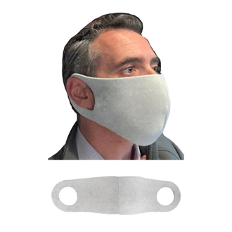 Customized Blank Breathable & Reusable Polyester Face Mask