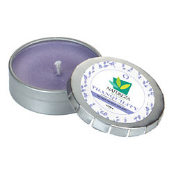 Customized Aromatherapy Candle in Small Push Tin