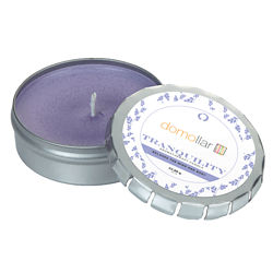 Customized Aromatherapy Candle in Large Push Tin
