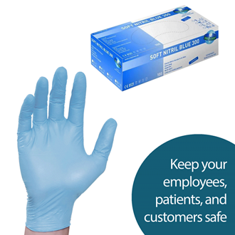 Customized Nitrile Gloves