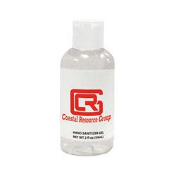 Customized 2 oz. Hand Sanitizer Gel Bottle