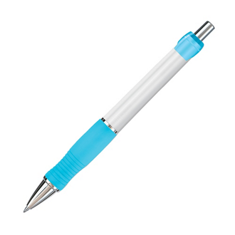 Customized Paper Mate® Breeze Ball Pen - White Barrel