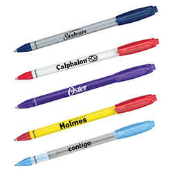 Customized Paper Mate® Sport Retractable Pen - White Barrel