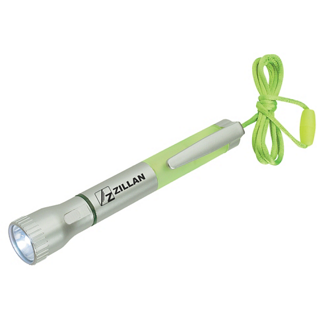Customized Flashlight with Light-Up Pen