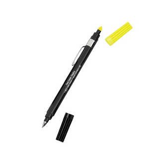 Customized Dri Mark® Double Exposure Highlighter/Pen-White